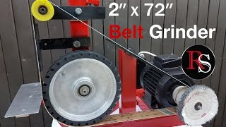"DIY - Making A 2x72"" / Belt Grinder with buffing wheel"