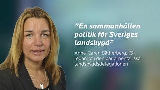 MPL 16 - En sammanhållen politik för Sveriges landsbygd
