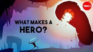 What makes a hero? - Matthew Winkler