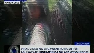 getlinkyoutube.com-Saksi: Viral video ng engkwentro ng AFP at Abu Sayyaf, kinumpirma ng AFP WesMinCom