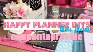 getlinkyoutube.com-6 Happy Planner Tutorials and 2 Punch Product Review!!!