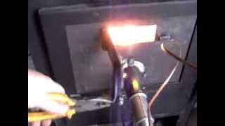 getlinkyoutube.com-soba pe lemne cu arzator ulei uzat