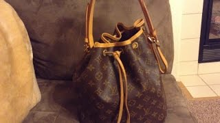 getlinkyoutube.com-Louis Vuitton Petit Noe Review