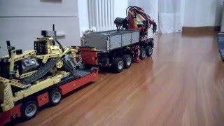 getlinkyoutube.com-Lego Technic 42043 Mercedes Benz Arocs 8x4  3245 RC