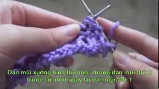 getlinkyoutube.com-Đan Khăn Len Hình Trái Tim Cực Đơn Giản - Thời Trang Làm Đẹp