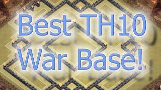getlinkyoutube.com-Clash of Clans - BEST TH10 Clan War Base Layout Speed Build