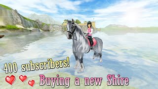 getlinkyoutube.com-400 subscribers ♡ Buying a NEW Shire!