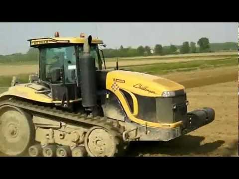 CAT Challenger MT865B SOUND!!! Agri957