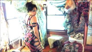 getlinkyoutube.com-Sexy Modern bellydancing ladykashmir designer baladi dress ,sequins,cutout,sea,queen,mermaid