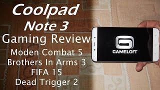 getlinkyoutube.com-Coolpad Note 3 Gaming Experience | Modern Combat 5, BIA3, FIFA 15, DeadTrigger 2