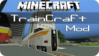 getlinkyoutube.com-TrainCraft - Minecraft Mod Review [DE] [HD]