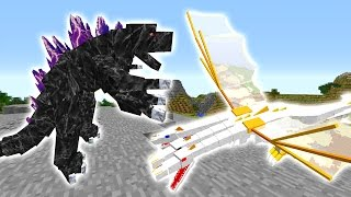 getlinkyoutube.com-THE KING VS Mobzilla! - Minecraft Mod Mobbattle