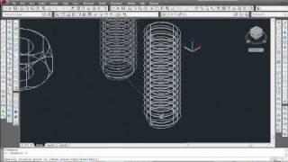 getlinkyoutube.com-Draw hex nut & thread using Autocad