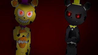 getlinkyoutube.com-Fredbear and Nightmare Speedpaint ( FNAF 4 )