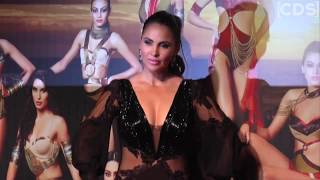 Lara Dutta Hot In Low Neck Gown At Miss Diva 2017 Red Carpet