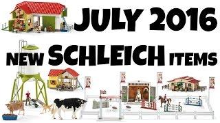 NEW SCHLEICH JULY 2016 | horzielover