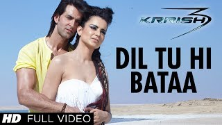 "getlinkyoutube.com-""Dil Tu Hi Bataa Krrish 3"" Full Video Song 
