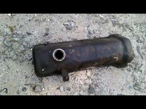 Как выглядит крышка клапанов от двигателя автомобиля ВАЗ 2101. Крышка клапанов двигателя копейки