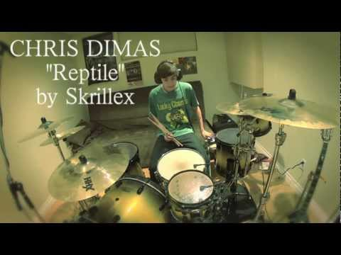 Chris Dimas - Reptile - Skrillex (Drum Remix)