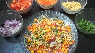 Corn Chaat | Easy   Spicy Corn Chaat Recipe