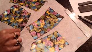 getlinkyoutube.com-Polymer Clay Surface Decoration Acrylic Ink Effect.wmv