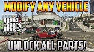 getlinkyoutube.com-Gta 5 Online - Modify Any Vehicle! Unlock All Car Parts!