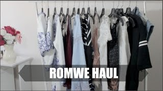 getlinkyoutube.com-HUGE Summer Try-On Haul 2015: Romwe