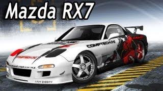 getlinkyoutube.com-NFS Pro Street - My new Drift Car [Mazda Rx7]