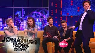 getlinkyoutube.com-One Direction Play Never Have I Ever - The Jonathan Ross Show
