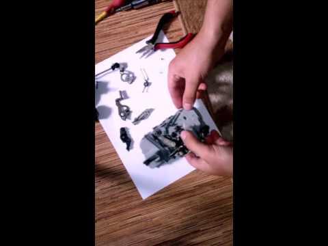 Разборка и ремонт замка двери машины Ситроен ксара пикассо
