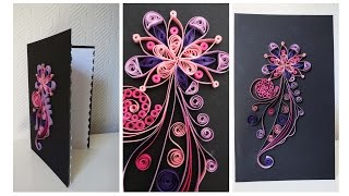 getlinkyoutube.com-Quilling Karte * Quilled Greeting Card