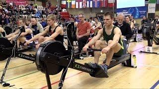 Henrik Stephansen equals his 2k indoor WR at Euro Open 2014