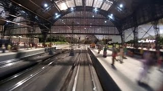 getlinkyoutube.com-The new model train show in Germany by Marklin