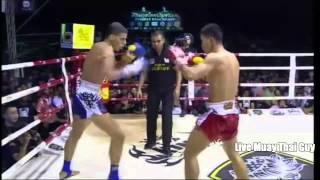 getlinkyoutube.com-Chao Chao Banchamek vs Flo Singpatong 14th April 2014
