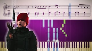 getlinkyoutube.com-twenty one pilots: Cancer - EASY Piano Tutorial + SHEETS