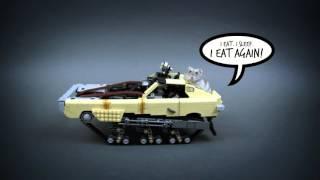 getlinkyoutube.com-Lego Technic RC Mad Max Peacemaker Ripsaw