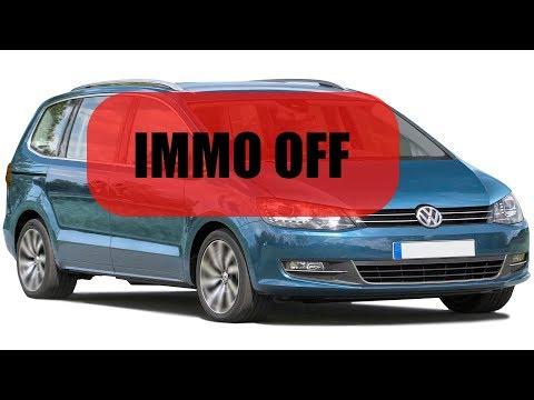 Как отключить иммобилайзер VW Sharan MSA15