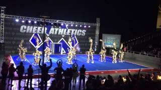 getlinkyoutube.com-Cheer Athletics Panthers Blue Debut 2015