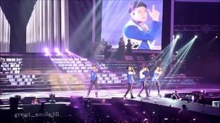 getlinkyoutube.com-[Fan Cam] I love your smile / หล่อมากมากคอนเสิร์ต / Super Boyband