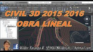 getlinkyoutube.com-CORREDOR VIAL EN CIVIL 3D 2016 - 2017