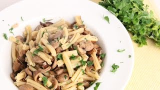 getlinkyoutube.com-Sausage & Mushroom Pasta Recipe - Laura Vitale - Laura in the Kitchen Episode 975