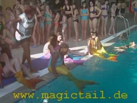1. Magictail Mermaid Gathering 8.03.2011 - Meerjungfrauentreffen