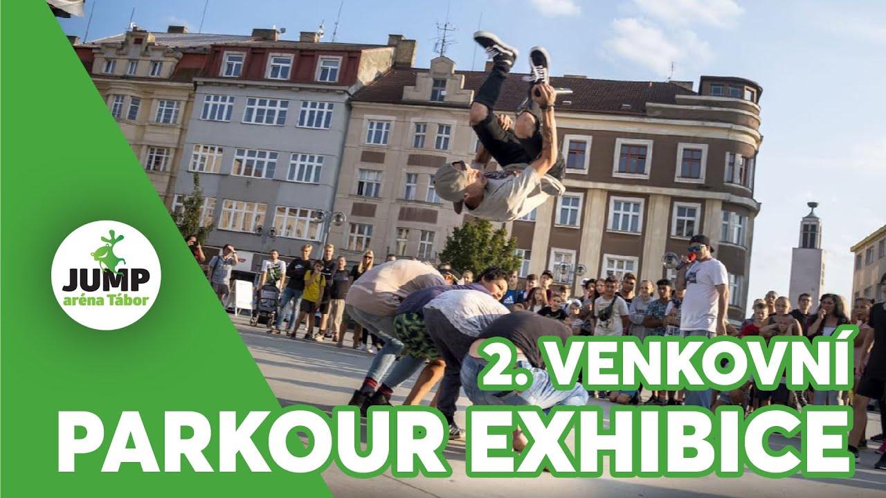 Jump aréna Tábor a její 2. venkovní parkour exhibice
