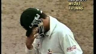 getlinkyoutube.com-Mark Waugh 126 vs West Indies 4th test 1995 - GENIUS