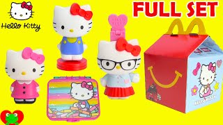 getlinkyoutube.com-2015 McDonalds Happy Meal Toys Hello Kitty
