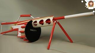 getlinkyoutube.com-Como Hacer una Arma de Papel - (Machine Gun)