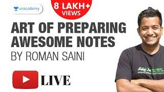 getlinkyoutube.com-Art of Preparing Awesome Notes by Roman Saini