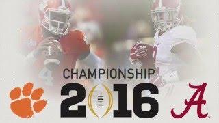 getlinkyoutube.com-National Championship Hype || Alabama vs. Clemson