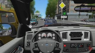 getlinkyoutube.com-City Car Driving - Dodge Ram SRT-10