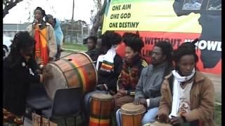Nyahbhingi Youth Council Public Demonstration - Strand, Western Cape - Azania